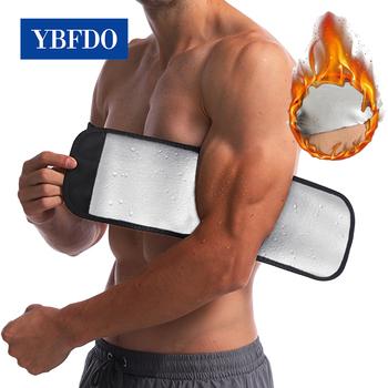 YBFDO 2021 nowy gorący pot Sauna efekt kompresji odchudzanie Arm trymer ion powłoka Thermo Arm Control neoprenowy efekt Arm Shaper tanie i dobre opinie CN (pochodzenie) NYLON POLIESTER DO UWYDATNIANIA SYLWETKI