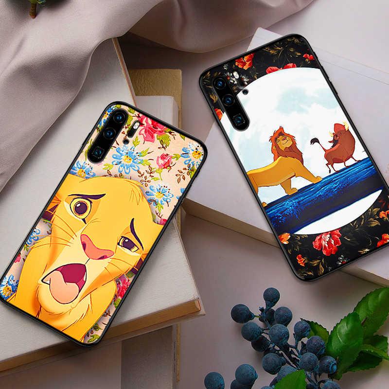 Silicone mềm Ốp Lưng Điện thoại Huawei P10 P20 2019 P8 P9 Mini P30 LITE Vua Sư Tử Cho Huawei P thông minh Z 2018 P20 Pro Coque