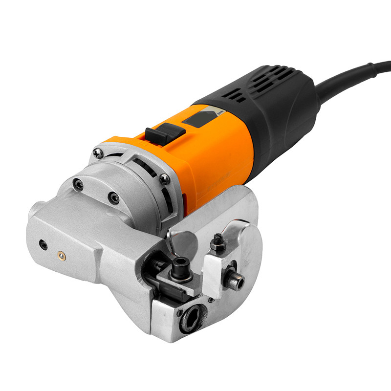 ALLSOME 500W 220V Heavy Duty Electric Sheet Metal Shear Cutter Nibbler Cutter Metal Cutting Tools 2600r/min Durable CJ008