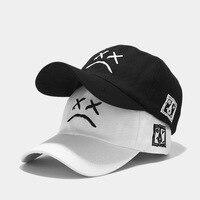 יוניסקס אופנה נשים גברים קיץ בחוץ Visor בייסבול שווי מתכוונן כובע בוכה פנים בייסבול כובע