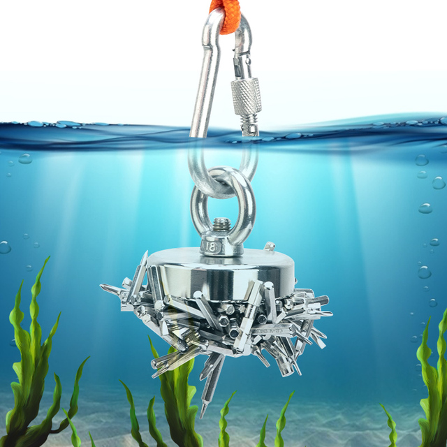 Super Strong Fishing Magnet Magnet suit for Deep sea salvage Searching  Magnet Strong Neodymium Permanent Magnet|Magnetic Materials| - AliExpress