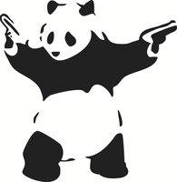 Kung Fu Panda Abnehmbare Wand Aufkleber Kinderzimmer Bar Nachtclub KTV Hause Wand Papier Schlafzimmer Dekoration Abnehmbare-in Schalterabdeckungen aus Heim und Garten bei