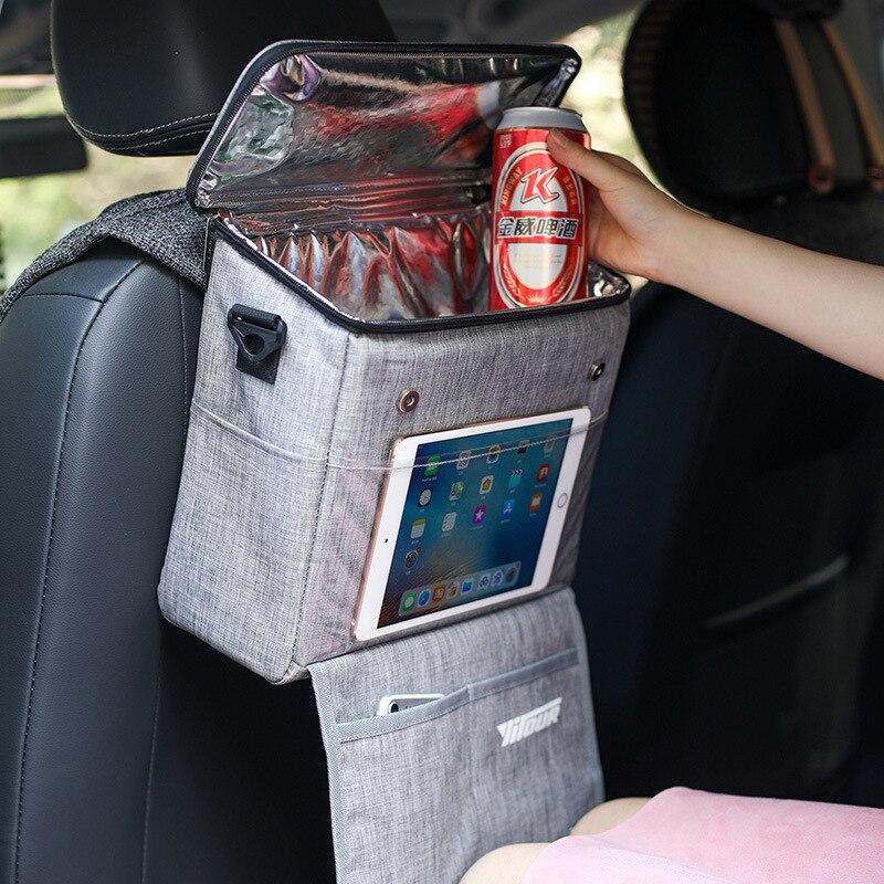 Car ice pack Oxford cloth aluminum insulation bag shoulder bag travel preservation and cold insulation bag