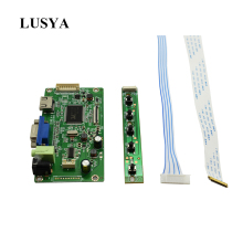 Lusya HDMI to EDP driver board VGA to EDP adapter board EDP LCD screen HD driver board RTD2550 for NT156WHM-N22 G12-001 стоимость