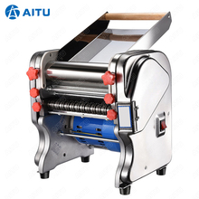 Dough Roller Pasta-Maker Noodle-Cutting-Machine Electric-Noodle Commercial Stainless-Steel
