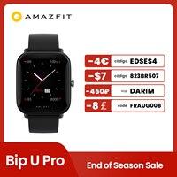 Originele Global Amazfit Bip U Pro Smartwatch 1.43 Inch 50 Horloge Gezichten Kleur Screen Gps Smart Horloge Voor Android Ios telefoon