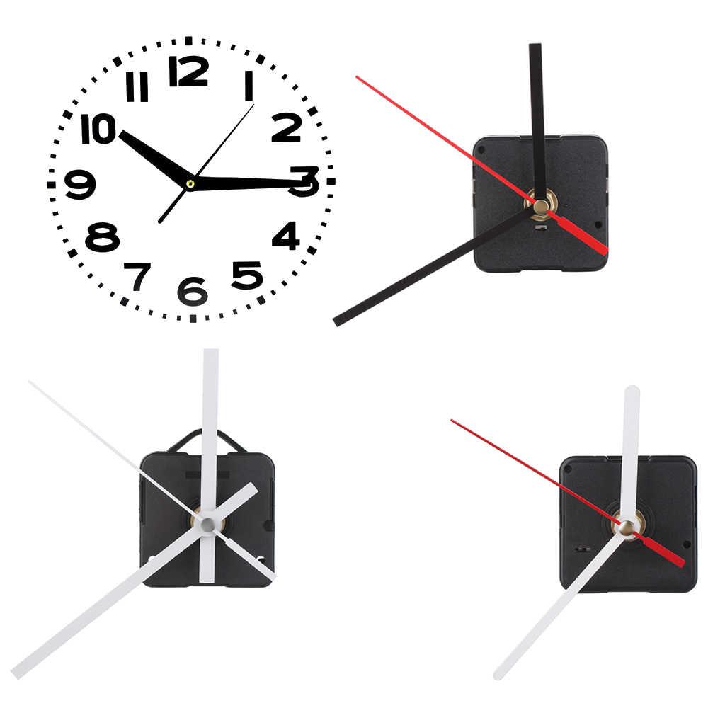 1PC Silence mechanizm ruchu niezbędne części do zegarów kwarcowych zestawy naprawcze narzędzia zamienne DIY akcesoria Bell Home Decoration