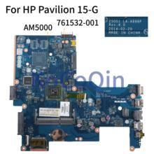 KoCoQin ノートパソコンのマザーボード HP パビリオン 15 G 255 G3 AM5000 から 761532 001 761532 501 ZSO51 LA A996P AM5000