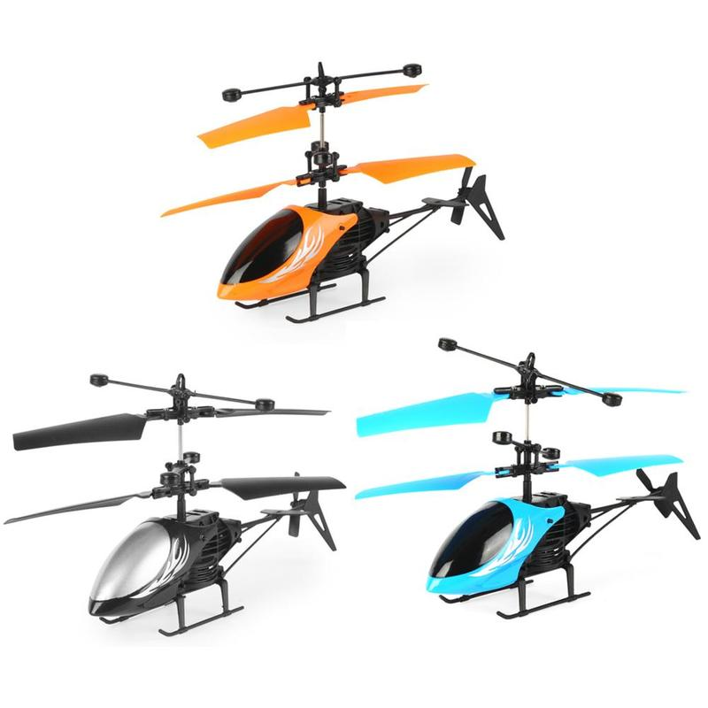 Mini Rc Induction Aircraft Hand Induction Remote Control Airplanes Flashing Light Toys Intelligent Airplane Toy For Children