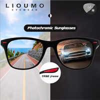 Gafas de sol cuadradas clásicas Retro gafas polarizadas para hombres y mujeres Lentes fotocrómicas para conducción segura gafas fotocromáticas para hombre