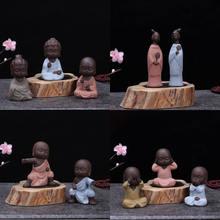 Новый маленький монах статуэтка Будды Статуи Индии йоги Мандала