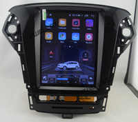 "10.4"" tesla style vertical screen Octa core Android 9.1 Car GPS radio Navigation for ford Mondeo 2011-2012 automatic A/C"