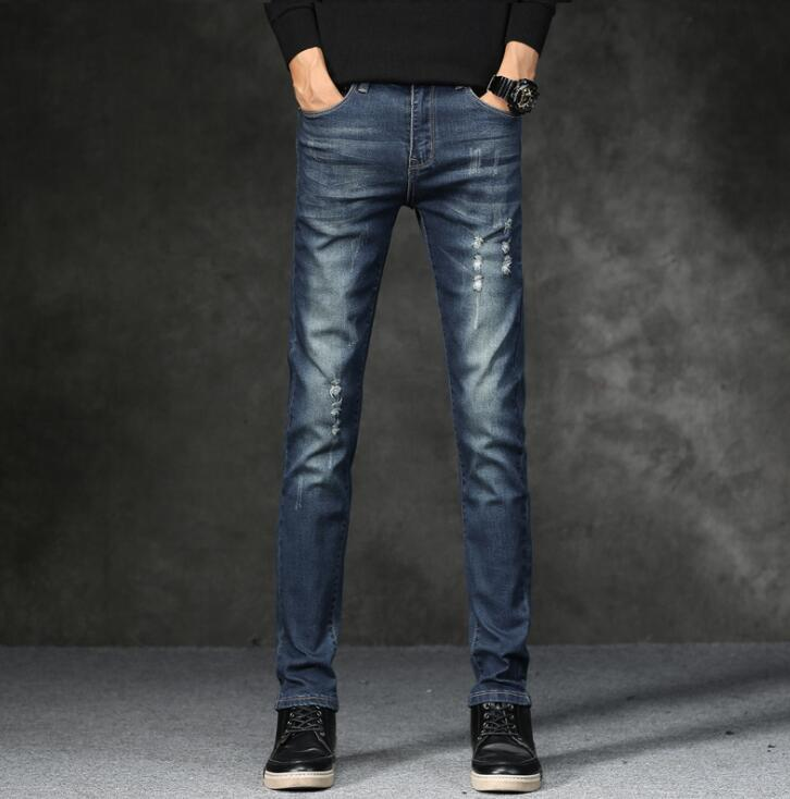 2019 Top Quality Discount Men Jeans On Hot Sales Cheap Men Fashion Long Trousers