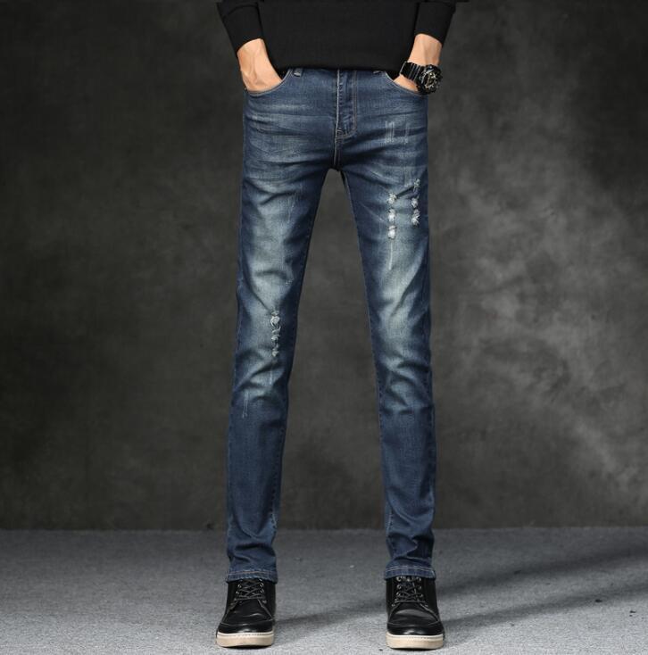 2019 Top Quality Discount Men Jeans On Hot Sales Cheap Men Fashion Long Trousers