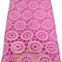 Нигерийские шнурки и камни, кружевная ткань молочного шелка, водорастворимое платье, кружево, высокое качество, африканская гипюровая кружевная ткань ETB79