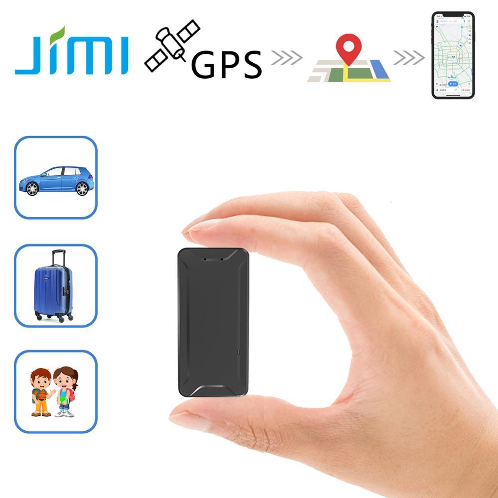 Мини-GPS-локатор JIMI AT2, Антивор, GSM Wi-Fi трекер с голосовой записью, дистанционное управление через приложение/SMS/ПК, магнитный перезаряжаемый GPS