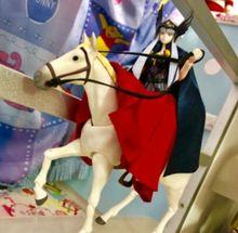 Polaris Hilda Hiruda pvc action white horse Model toy 1/12