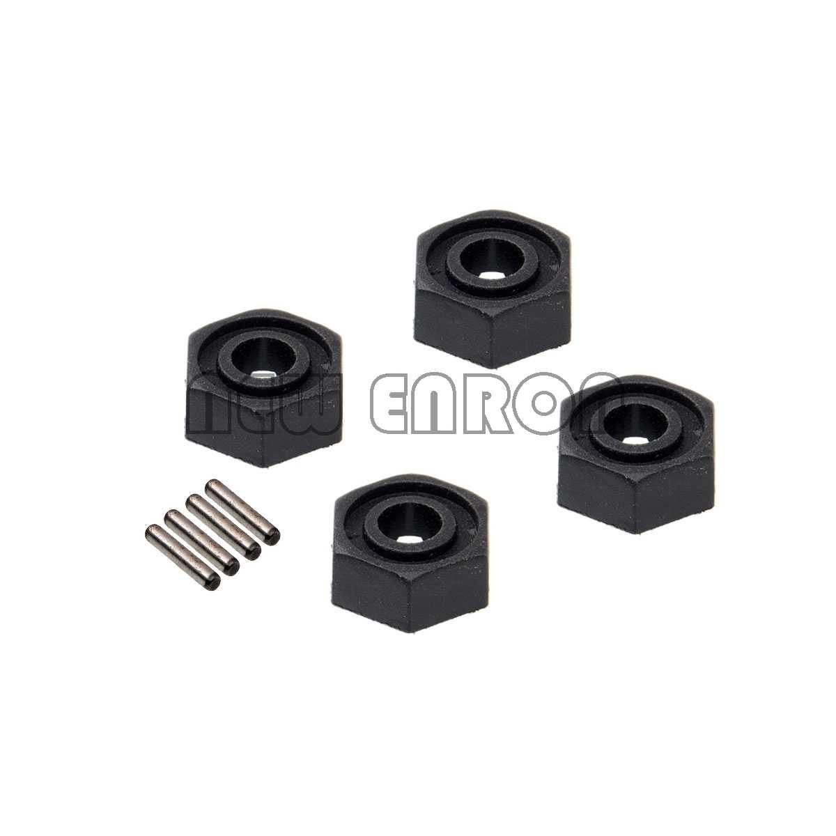 ใหม่ ENRON 4P ล้อ Hex W/Pins (2 * * * * * * * 10) r86050 RC Crawler RGT 1/10 1:10 รถบรรทุกมอนสเตอร์แผนที่ Rock Cruiser EX86100