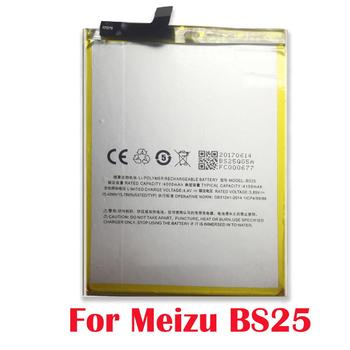 100% Original 4100mAh BS25 Battery For Meizu M3 MAX Newly Production High Quality Battery+Tracking Number