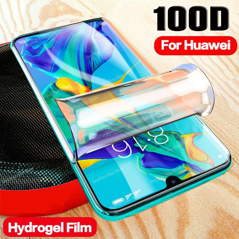 100D Защитная пленка для Huawei P30 Pro P30Lite, защитная пленка для экрана, Гидрогелевая пленка для Huawei P30 Lite P30Pro, легкая пленка