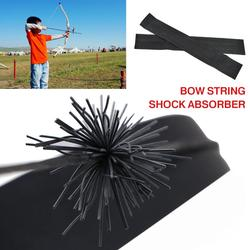 New Archery Bow String Stabilizer Silencer Dampener Recurve Compound Bow Longbow