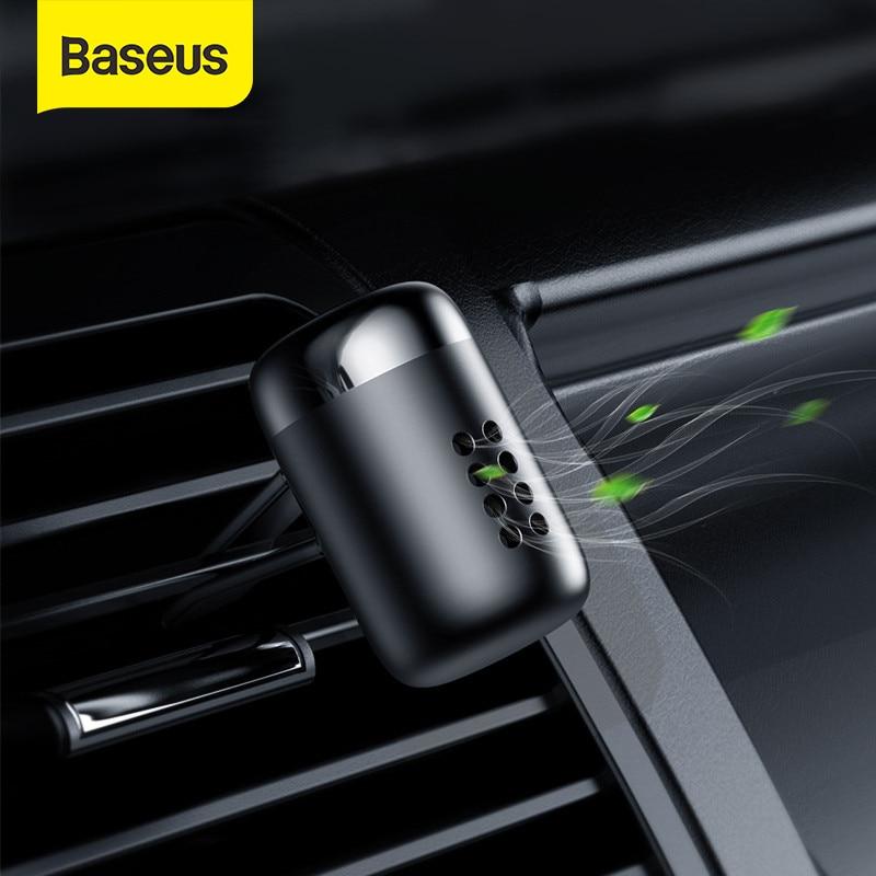 Baseus Metal Araba Parfüm Hava Spreyi Aromaterapi Katı Araba Hava Firar Çıkışı Spreyi Hava Durumu Klip Difüzör