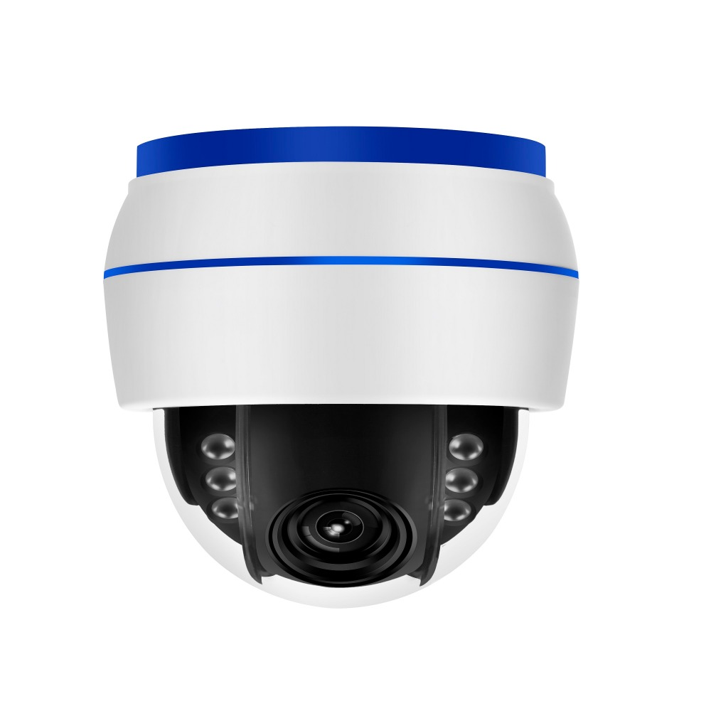 Free Shipping 5MP Sony sensor 5x auto zoom PTZ Camera 5MP P2P Onvif wifi IP Dome Camera Work With Hikvision NVR