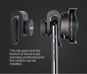 Image 3 - ULANZI Anamorphic Lens Universal Lens Wide angle lens with CPL filter Fisheye Lens Telephoto Lens for iPhone Andriod Phones