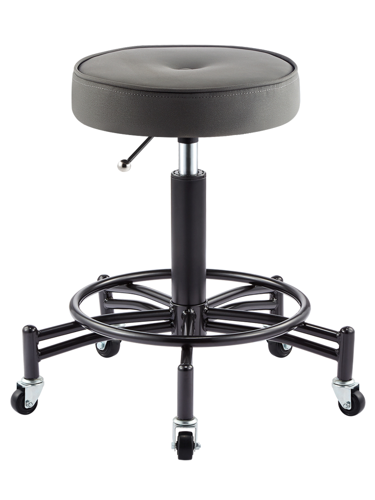 Beauty Stools Salon Rotary Lift Round Stool Barber Shop Chair Pulley Work Stool Nail Stool Makeup Hair Salon