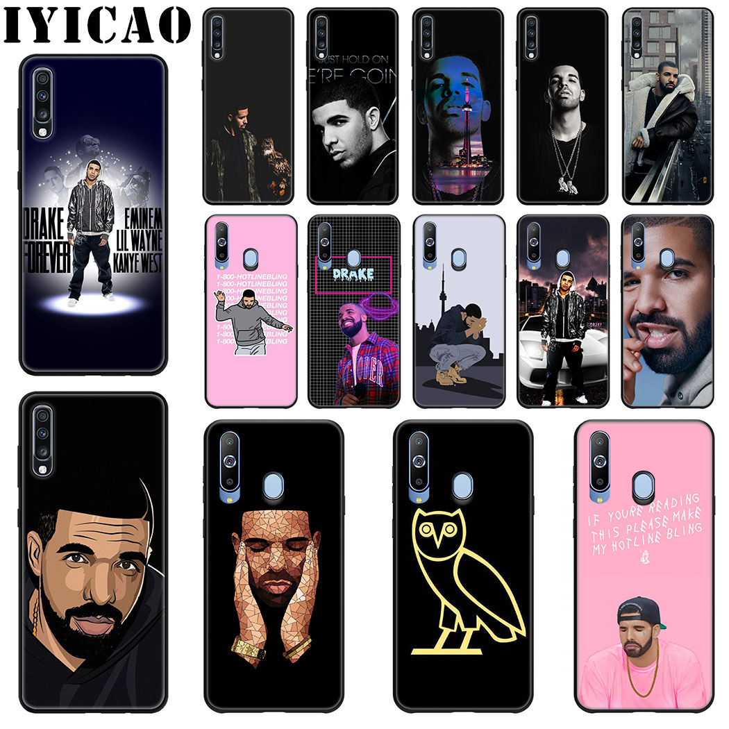 IYICAO Rapper Drake Soft Silicone Case for Samsung J6 A9 A8 A7 A6 Plus 2018 A5 A3 2016 2017 Phone