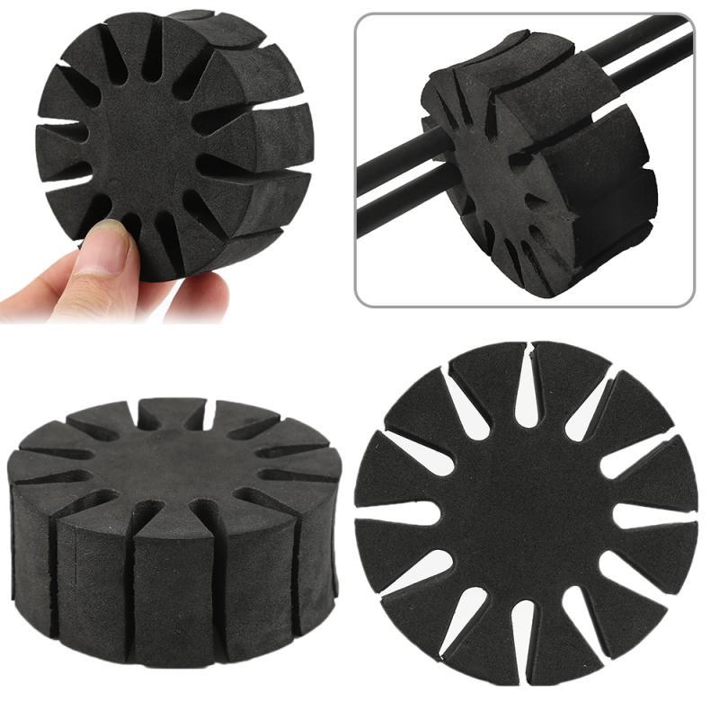 Latest 1PCS Black Sponge Arrow Separator Bow & Arrow Accessories Holder EVA Foam Quiver Protection Spliter Shelf Arrow Rack