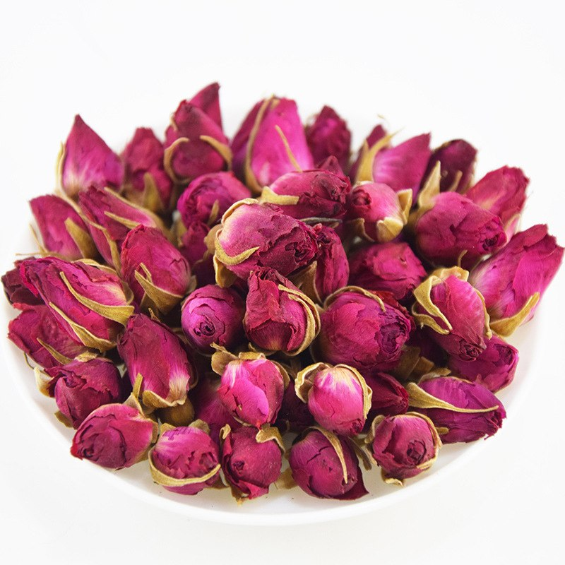 Rose Tea Dried Roses Pingyin Roses Edible Rose Tea Fresh Natural Buds Bulk 3