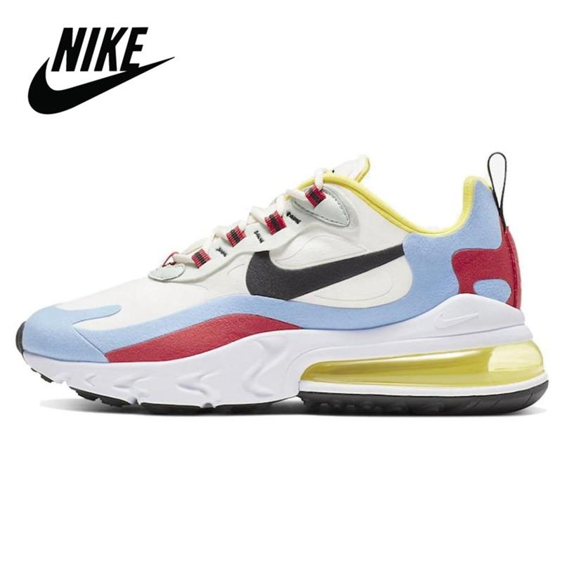 2020 NEW Original Nike Air Max 270 React Bauhaus Women's Running Shoes Breathable Comfortable Sports Sneakers AirMax 270 React