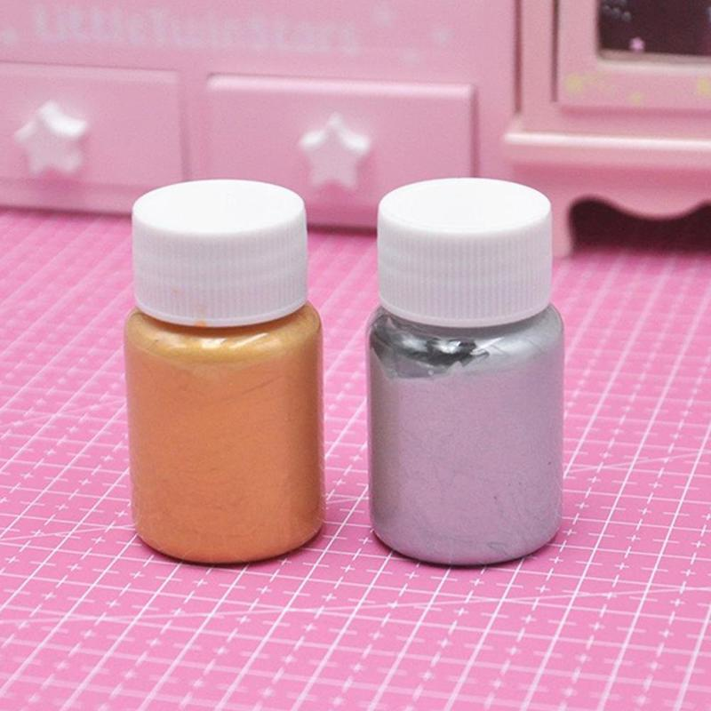 1pc Candy Color Pearlescent Mica Pigment Powder Rainbow UV Resin Epoxy Craft DIY Jewelry Making 5 Color