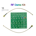 Радиочастотный демонстрационный комплект нановна RF тестер доска фильтр аттенюатор для NanoVNA-F векторный сетевой анализатор