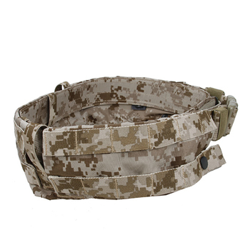 TMC MRB2.0 Belt Tactical Military Girdle Combat Waistband - AOR1 Camouflage L