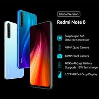 Global Version Xiaomi Redmi Note 8 4GB 128GB Cellphones & Telecommunications