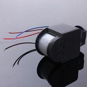 Image 3 - 180 Rotatable Outdoor Infrared PIR Motion Sensor Detector 110 220V Wall Light Switch Energy saving Lighting Switch #63
