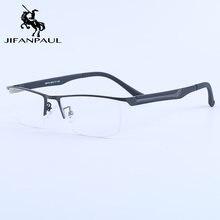Jifanpaul мужская оправа для очков ультратонкая близорукости