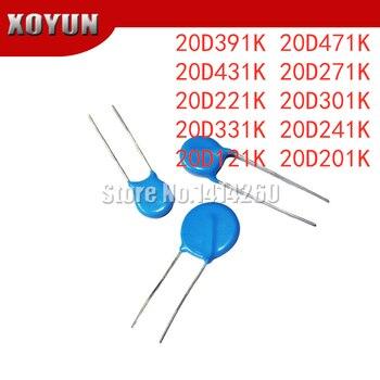 10pcs 20D391K 20D471K 20D431K 20D271K 20D221K 20D301K 20D331K 20D241K 20D121K 20D201K 20mm - discount item  5% OFF Passive Components