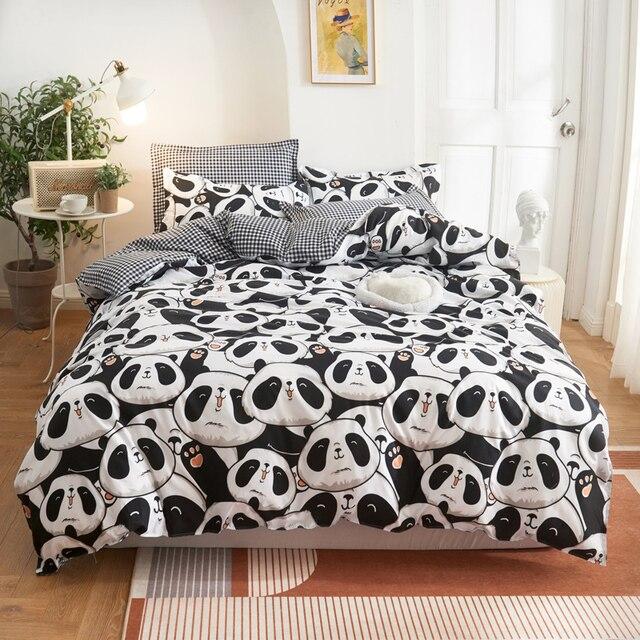 Simple Bedding Set Panda Bear 38