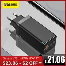 "Baseus 65W גן מטען תשלום מהיר 4.0 3.0 סוג C פ""ד USB מטען עם QC 4.0 3.0 נייד מהיר מטען ForiP ForXiaomi מחשב נייד"