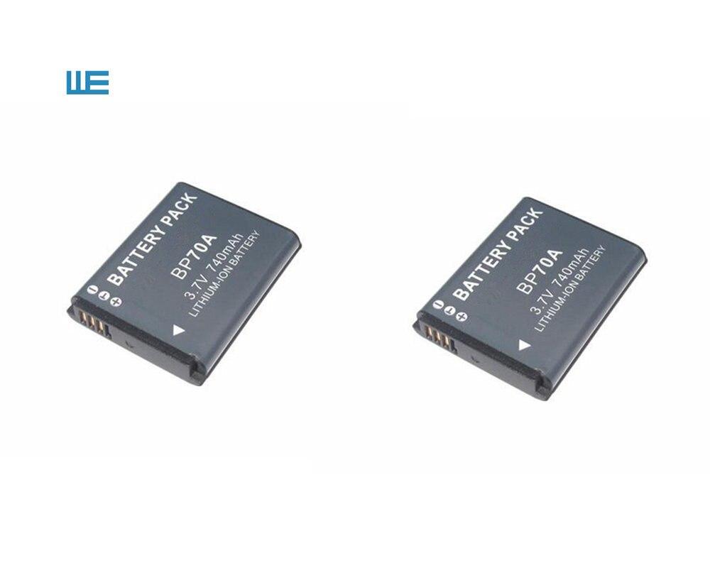 BP-70A EA-BP70A IA-BP70A BP70A IABP70A Батарея для SAMSUNG AQ100, DV150F, ES65, ES67, ES70, ES71, ES73, ES74, ES75, ES80 - Цвет: 2