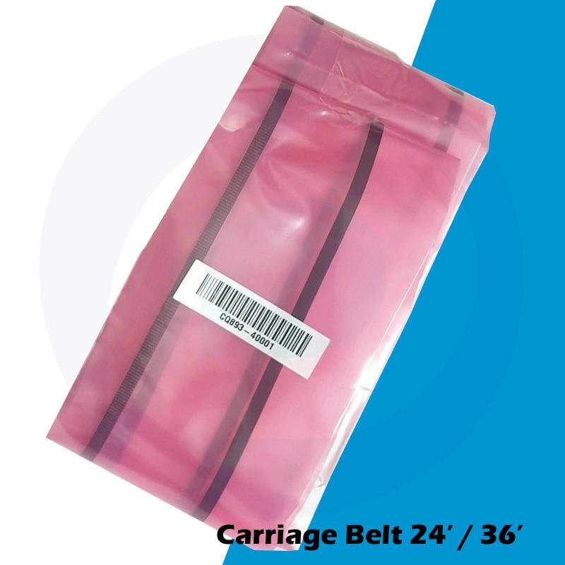 """CQ890-67059  HP DESIGNJET T120 T520  CARRIAGE BELT 24/"""" A1 Belt Original NEW"""