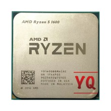 AMD Ryzen 5 1600 R5 1600 3.2 GHz processore CPU a sei Core a dodici Thread 65W-Socket AM4
