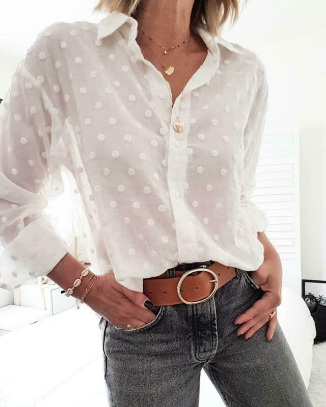 demi//bouton design classique 10 cols Grand-père shirts original chemise sans col Co