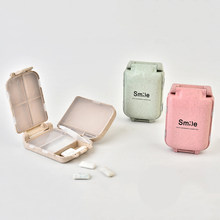 Mini Pill Box 8 กริด Medical Drugs แท็บ(China)