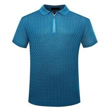 Billionaire polo shirt silk Snake skin men 2021 New fashion short sleeve Business England high quality big size M-5XL elasticity