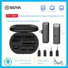 Boya by wm3 lavalier Беспроводная микрофонная система 24 ГГц