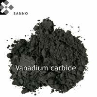 99.999% purity vanadium carbide powder ultrafine 10um Vc metal hard alloy additives welding material for scientific research